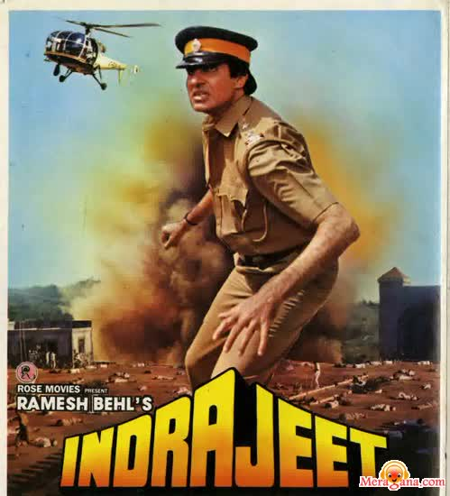 Poster of Indrajeet (1991) - (Hindi Film)