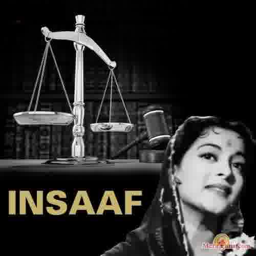 Poster of Insaaf (1956) - (Hindi Film)