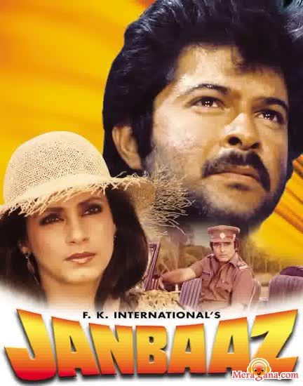 Poster of Janbaaz+(1986)+-+(Hindi+Film)