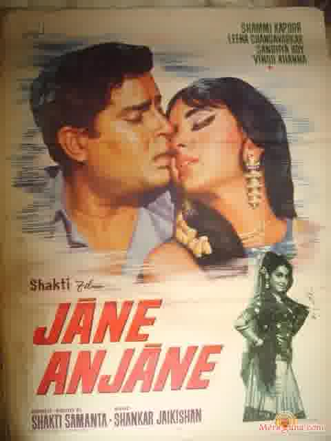 Poster of Jane Anjane (1971) - (Hindi Film)