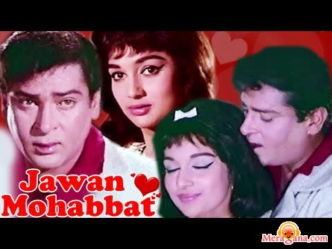 Poster of Jawan Mohabbat (1971) - (Hindi Film)