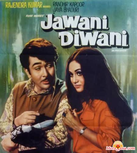Poster of Jawani Diwani (1972) - (Hindi Film)