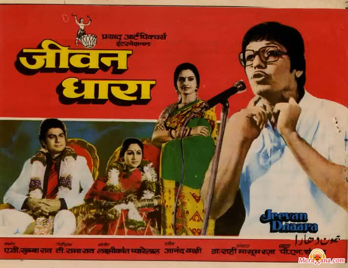 Poster of Jeevan Dhaara (1982) - (Hindi Film)
