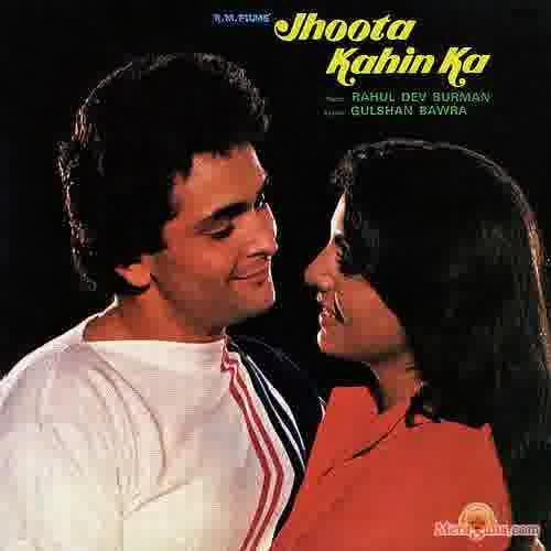 Poster of Jhoota+Kahin+Ka+(1979)+-+(Hindi+Film)