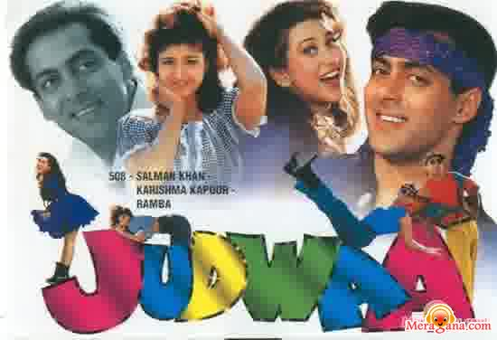 Poster of Judwaa (1997) - (Hindi Film)