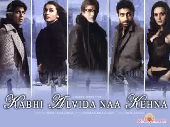 Poster of Kabhi Alvida Naa Kehna (2006) - (Hindi Film)