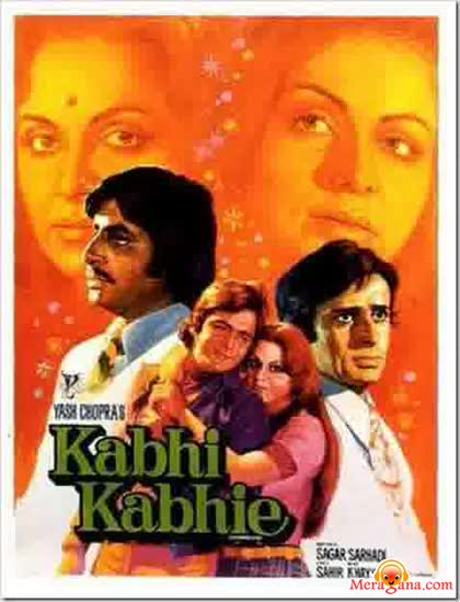 Poster of Kabhi Kabhie (1976) - (Hindi Film)