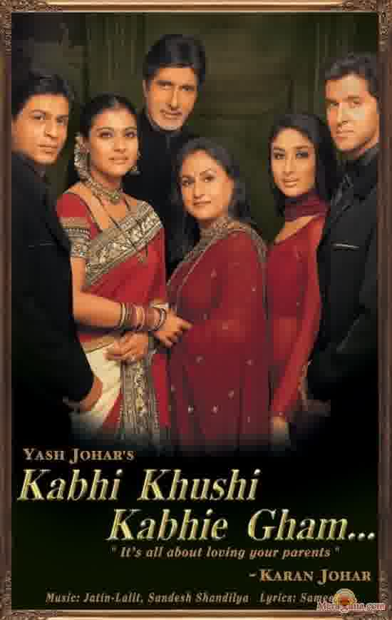 Poster of Kabhi Khushi Kabhie Gham (2001) - (Hindi Film)
