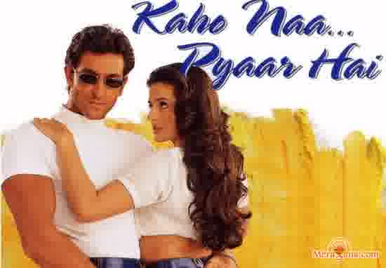 Poster of Kaho Naa Pyaar Hai (2000) - (Hindi Film)
