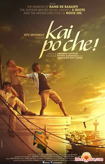 Poster of Kai Po Che! (2013) - (Hindi Film)