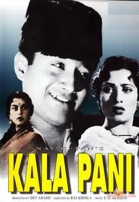 Poster of Kala Pani (1958) - (Hindi Film)
