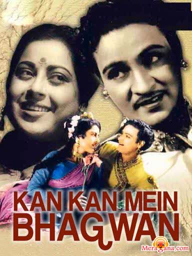 Poster of Kan Kan Mein Bhagwan (1963) - (Hindi Film)