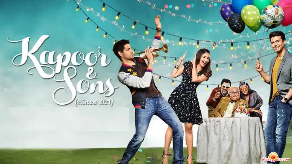Poster of Kapoor & Sons (2016)
