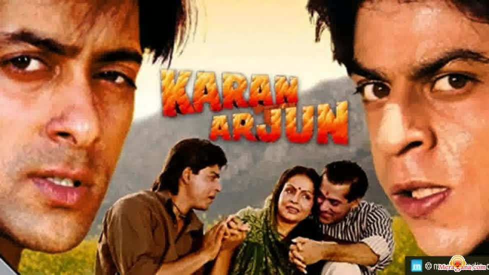 Poster of Karan Arjun (1995) - (Hindi Film)
