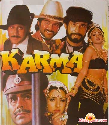 Poster of Karma (1986) - (Hindi Film)