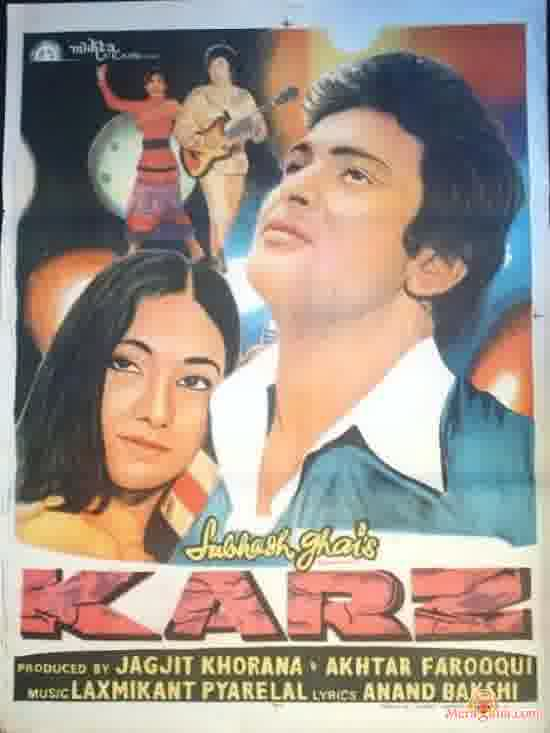 Poster of Karz (1980) - (Hindi Film)