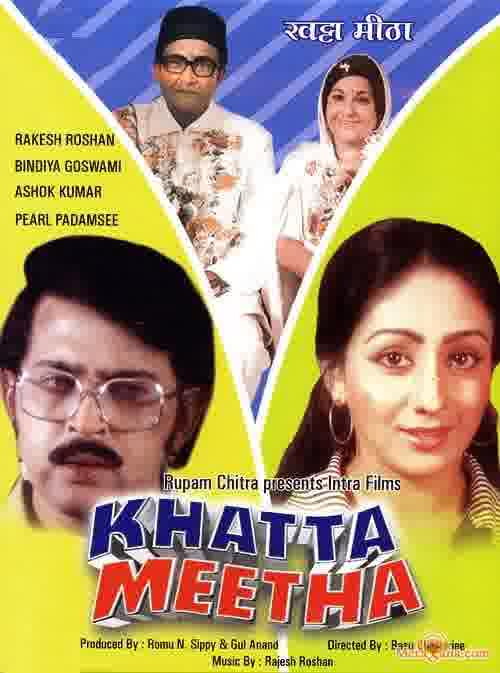 Poster of Khatta Meetha (1977) - (Hindi Film)