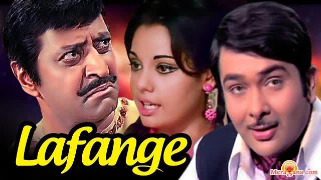 Poster of Lafange (1975) - (Hindi Film)