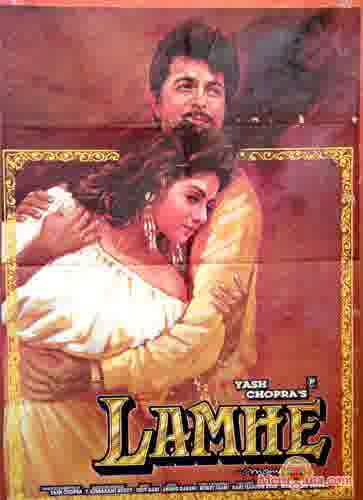 Poster of Lamhe (1991) - (Hindi Film)