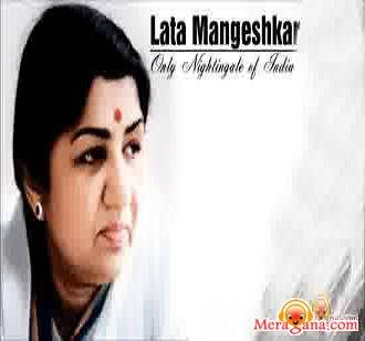 Poster of Lata Mangeshkar - (Devotional)