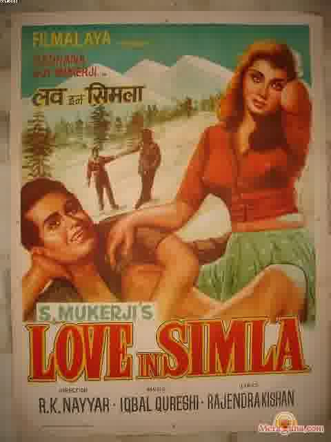 Poster of Love In Simla (1960) - (Hindi Film)