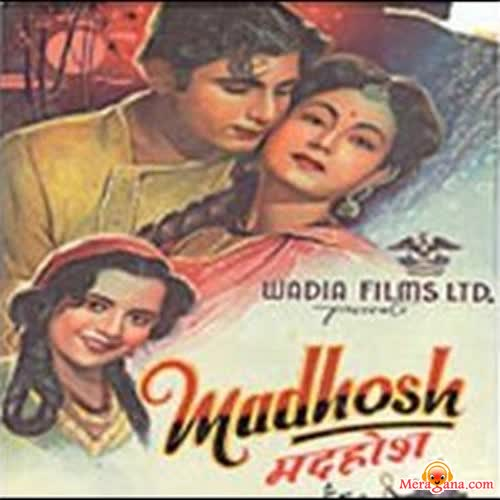Poster of Madhosh (1951) - (Hindi Film)