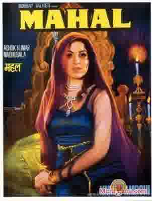 Poster of Mahal+(1949)+-+(Hindi+Film)