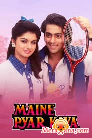 Poster of Maine Pyar Kiya (1989) - (Hindi Film)