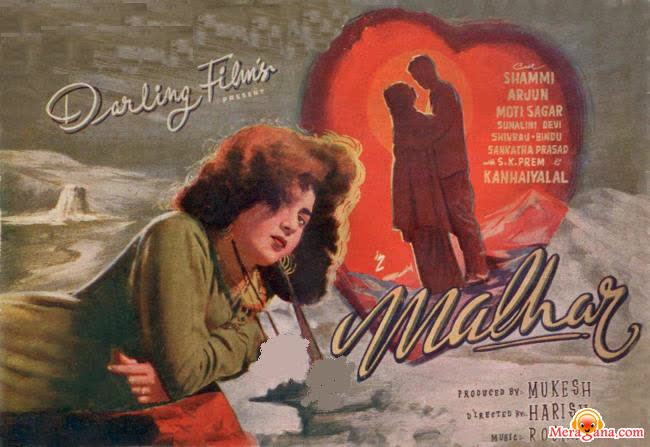 Poster of Malhar (1951) - (Hindi Film)