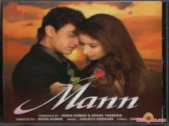 Poster of Mann (1999) - (Hindi Film)