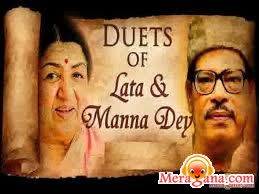 Poster of Manna Dey and Asha Bhosle - (Bengali Modern Songs)