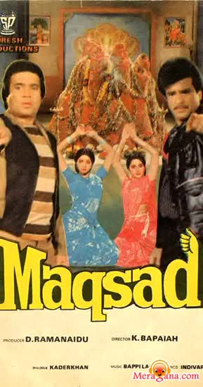 Poster of Maqsad+(1984)+-+(Hindi+Film)