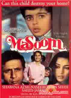 Poster of Masoom (1983) - (Hindi Film)