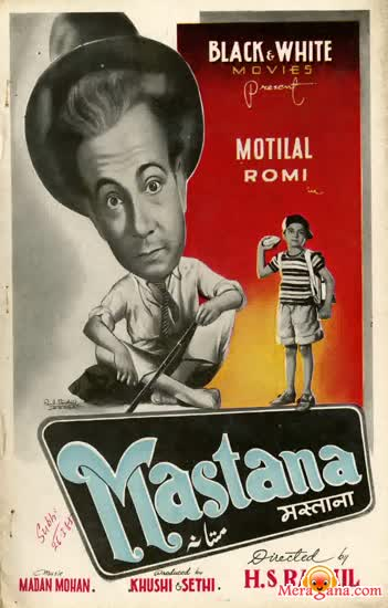 Poster of Mastana (1954) - (Hindi Film)