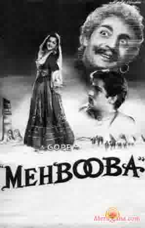 Poster of Mehbooba (1954) - (Hindi Film)