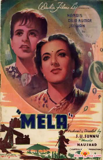 Poster of Mela (1948) - (Hindi Film)