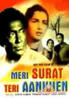 Poster of Meri Surat Teri Ankhen (1963) - (Hindi Film)