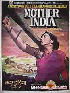 Poster of Mother India (1957) - (Hindi Film)