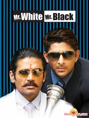 Poster of Mr White Mr Black (2008) - (Hindi Film)