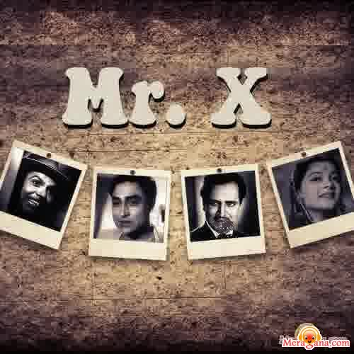 Poster of Mr X (1957) - (Hindi Film)