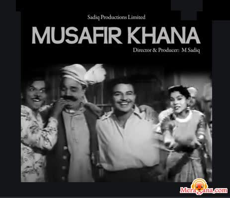 Poster of Musafir Khana (1955) - (Hindi Film)