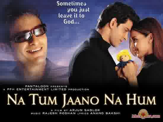 Poster of Na Tum Jaano Na Hum (2002) - (Hindi Film)