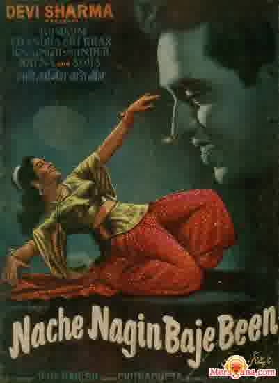 Poster of Nache Nagin Baje Been (1960)