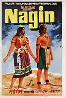 Poster of Nagin (1954) - (Hindi Film)