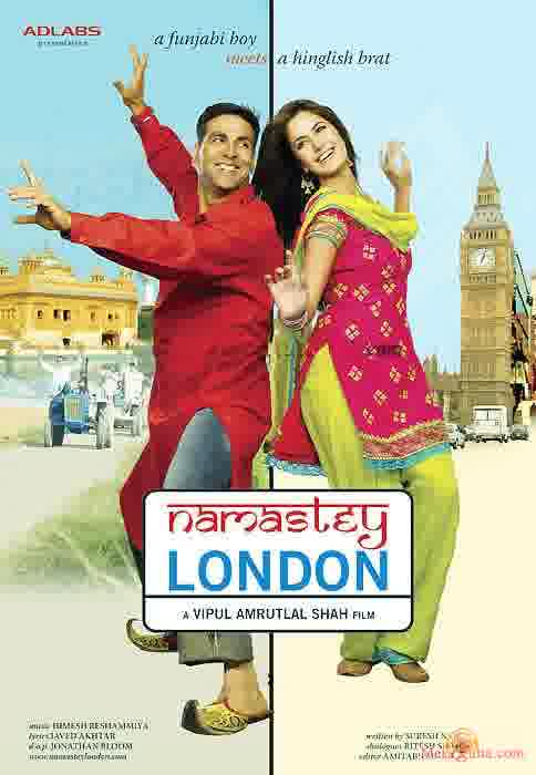 Poster of Namastey London (2007) - (Hindi Film)