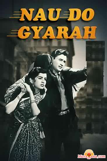 Poster of Nau Do Gyarah (1957) - (Hindi Film)