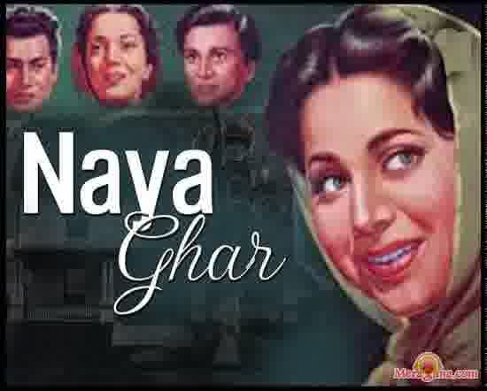 Poster of Naya Ghar (1953) - (Hindi Film)