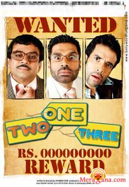 Poster of One Two Three (2008) - (Hindi Film)