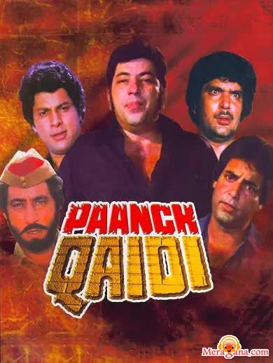 Poster of Paanch Qaidi (1981)