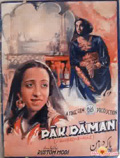 Poster of Pak Daman (1931) - (Hindi Film)